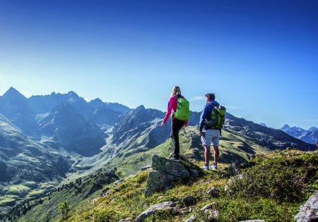Wandern am Hochzeiger © Hochzeiger Zangerl