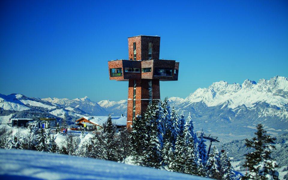 Jakobskreuz im Winter © Bergbahnen Pillersee