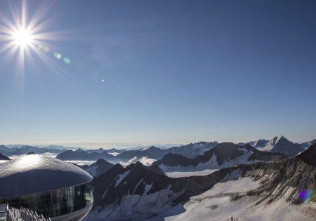 Aussicht Café 3.440 © Gletscherpark Tirol