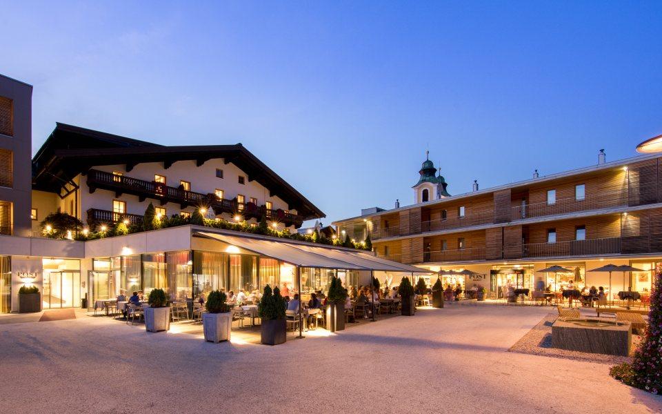 Hotel Wirtshaus Post Abendansicht © Hotel Wirtshaus Post
