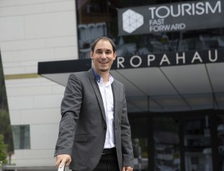Bernhard Rieder, Organisator Tourism Fast Forward © W9 Studios