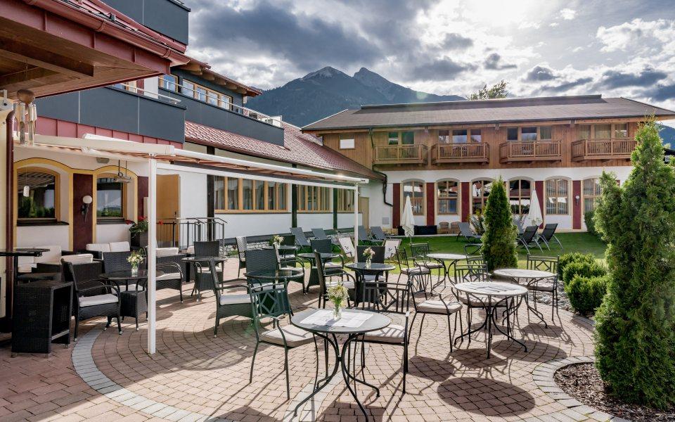 Hotel Zum Gourmet Terrasse © Zum Gourmet