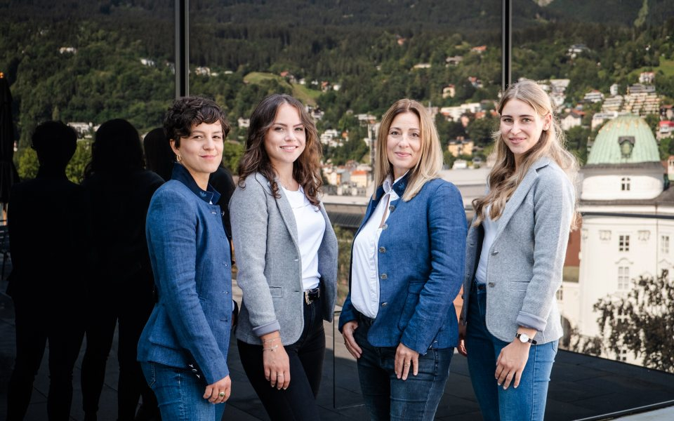 Convention Bureau Tirol Team © Nicolas Hafele