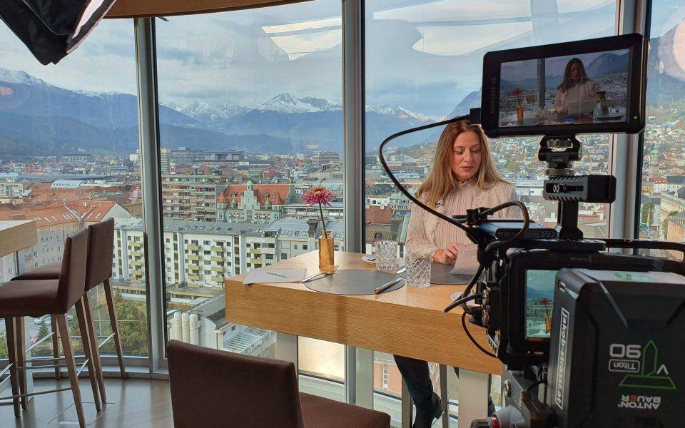 Making Of Pitch Movie © Convention Bureau Tirol