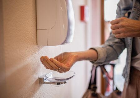 Hygiene & Gesundheit © Philipp Reiter sichere Meeting Industrie Tirol