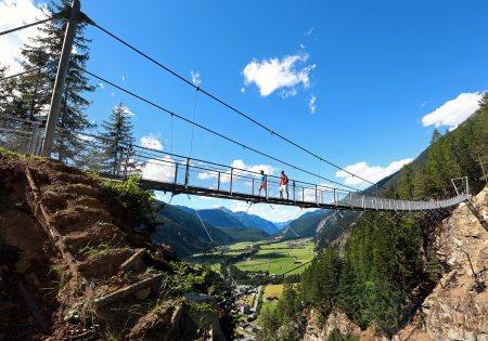 Brand und Burgstein Hängebrücke © Ötztal Tourismus