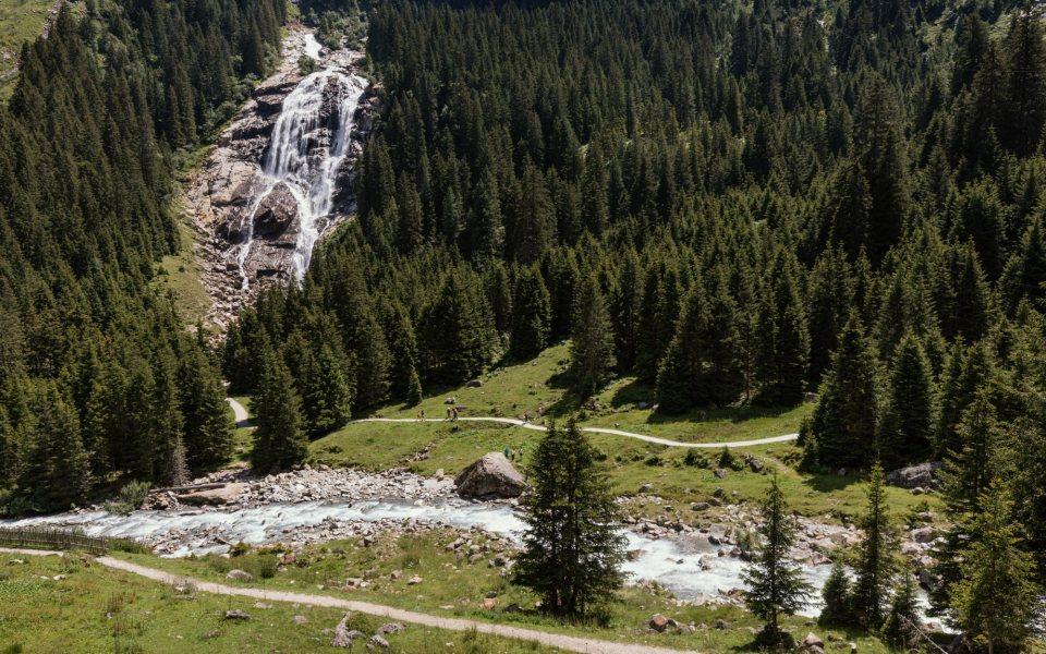 Grawa Wasserfall Tirol © Robert Pupeter