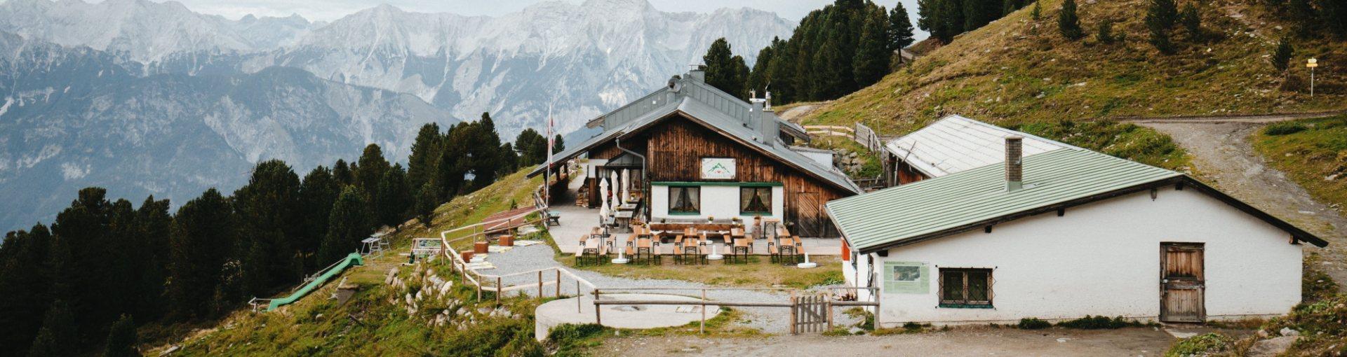 Tulfes, Inntaler Höhenweg, Tulfeinalm © Charly Schwarz