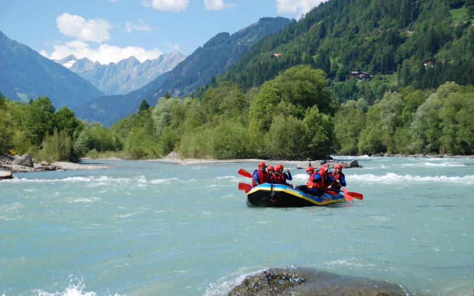Rafting © Tourismusverband Osttirol Geschichtenwürfel
