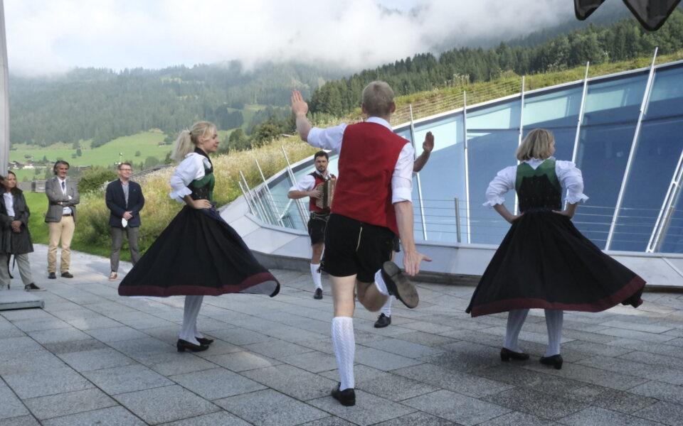 Der TVB Alpbachtal Schuachplattler. © NECSTouR