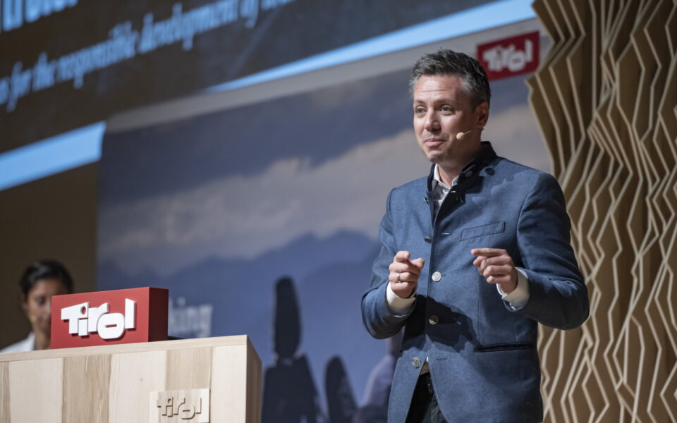 Florian Phleps, Geschäftsführer der Tirol Werbung © Tirol Werbung / Gerhard Berger